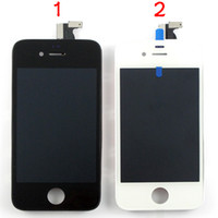 Wholesale Iphone4 Lcd Replacement Screen - For iPhone 4 4S 4G 4th 4GS Full Front Screen Replacement Parts Assembly for iPhone4 iPhone4s Black White