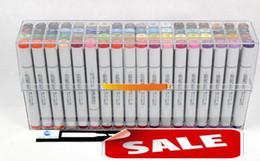 Второе поколение ручки copic маркер COPIC Copics эскиз ручка комиксов ручная роспись искусство живопись ручки набор 72 цветов бесплатный подарок сумка ручка сумки от Поставщики детские товары