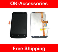 Wholesale Desire C - For HTC DESIRE C A320E GOLF LCD Display+Touch Screen Digitizer Assembly 1PC Lot Free Shipping