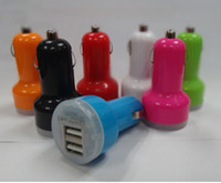 2. 1A + 1A Dual USB Car Charger for iPad5 4 for iPhone5S 5C a...