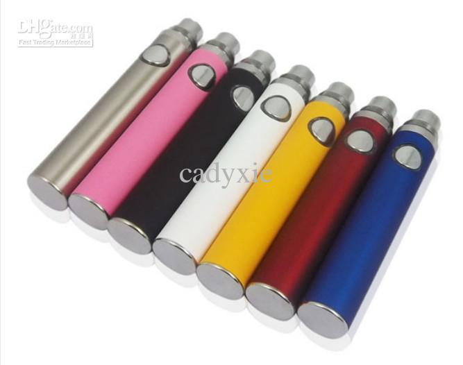 Cigarros eletrônicos EGO EVOD Bateria 650mAh 900mAh 1100mAh Evod Bateria para EVOD BCC, MT3, NOVA VIVI, MINI VIVI NOVA CE4, TANQUE DE VIDRO