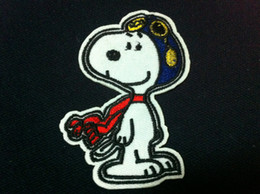 Wholesale Dog Piece - Wholesales~10 Pieces Japan Cartoon Dog ( 5.5 x 8cm) Kids Patch Embroidered Iron On Applique Patch