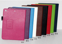 Wholesale Ipad Air Smart Cover Colors - PU Magnetic Leather Smart Case Cover With Stand For 9.7inch ipad air ipad 5 stand leather case 9 colors in stock