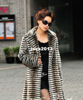 Wholesale Mink Fur Garment - Warm mink fur mink fur coat women's garment costly coats for woman one long for women,free shipping TBW035