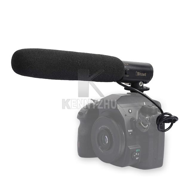 DC DV 30 Degree Adjustable Cardioid Microphone with 3.5mm Plug For Canon Nikon Pentax DSLR Digital Camera Camcorder