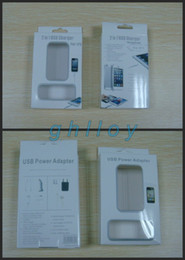 Wholesale Iphone 3g Charger Cable - For iphone 5 5g 4 4s 3g 3gs US home wall charger + USB 30 pin cable 2 in 1 retail package ipad ipod 200pcs lot