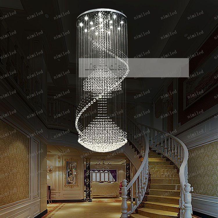 LLFA50 lámpara de cristal de la lámpara de cristal de alto grado K9 penthouse lámpara de proyecto del hotel lámpara 6851