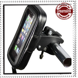 Wholesale Mobile S Bag - 2013 NEW Bicycle mobile phone waterproof bag for Iphone Samsung Free shipping