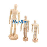"Wholesale Art Body Figure - 4.5"" 5.5"" 8"" Artist Art Class Wooden Doll Drawing Figure Male Manikin Full-Body Mannequin Sculpture #2629"