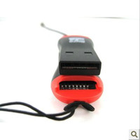 Wholesale Fedex Reader - whistle USB 2.0 T-flash memory card reader,TF card reader ,micro SD card reader DHL FEDEX free shipping 2500ps