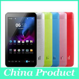 Через планшет онлайн-Android 4.2 двухъядерный 7-дюймовый планшетный ПК через 8880 WM8880 A9 1.5 GHZ двойная камера HDMI 512MB 4GB обновленный 8850 tablet Рождественский подарок 000269