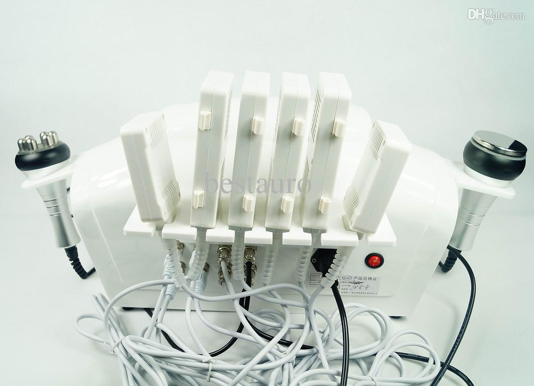 3 in 1 Laser Ultraschall Liposuktion Kavitation Radiofrequenz Lipo Abnehmen Schönheit Ausrüstung Maschine mit CE-Zulassung Au-65