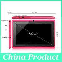 ingrosso casi di pollice androide-Nice Gift Q88 A23 con custodia per tastiera Tablet PC Android 4.2 Dual Camera 512MB 4GB 7 pollici dual core factory pirice