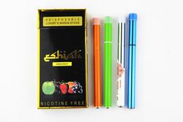 Wholesale Disposable Health Cigarette - Disposable Electronic Cigarette E Shisha Pen Health 9 Fruit flavor hookah vapor 9 colors DHL EMS 50PCS