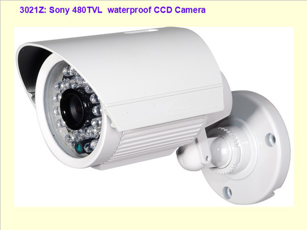 Security CCTV Color Sony 480TVL day and night infrared CCD IR camera 30 IR Led with all in one bracket with wide angle lens