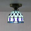 glass ceiling lamp bedroom Mediterranean-style bar table lamp aisle DIA 14 CM H15 CM