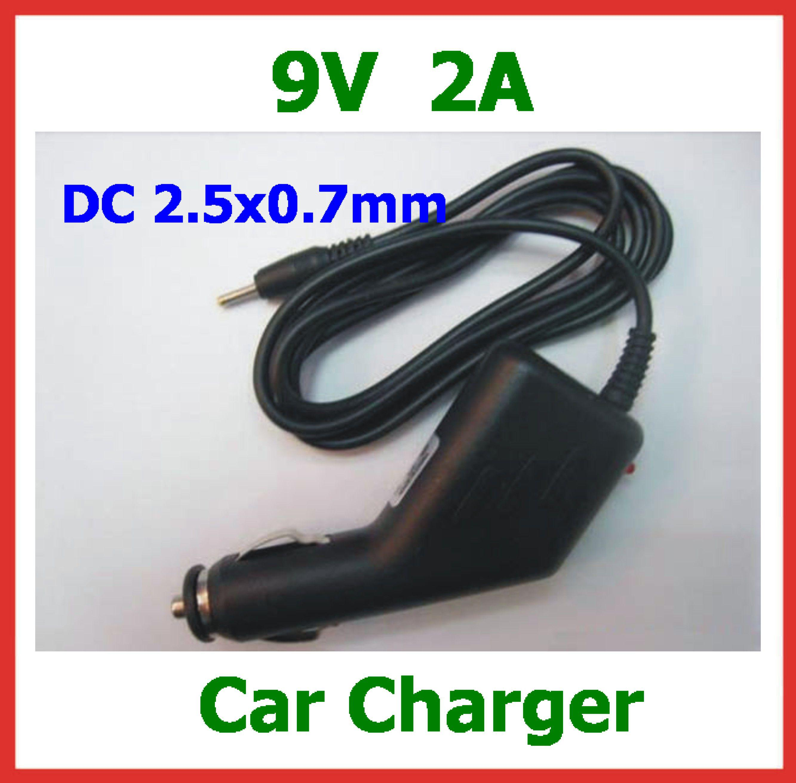 9V 2A Car Charger For Tablet PC Aoson M19 Pipo M2 M3 M8 3G Chuwi V3 SmartQ T19 T20 T30 Power Adapter Coverter Dual