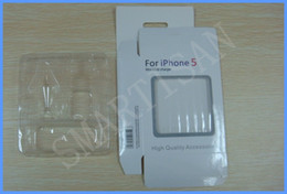 Wholesale Iphone Charger Carton - Empty Retail Package 3 in 1 Carton Retail Package Packaging Boxes box for iphone 5 5G cables chargers 100pcs up