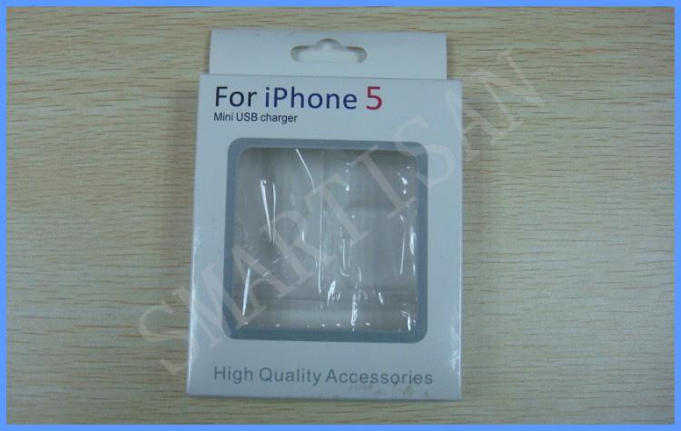Boş Perakende Paketi 3 in 1 Karton Perakende Paketi Ambalaj Kutuları kutusu iphone 5 5G kabloları için şarj 100 adet