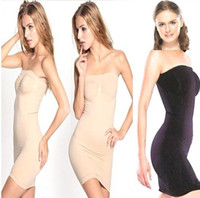 Wholesale Black Tube Skirt L - Wedding Dress Underwear Slimming Seamless Slim Tubes Magic Skirt Shapewear 600pcs Wholesale