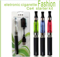 Wholesale Ego W Ce5 Kit - EGO Start Kit CE4 Atomizer Clearomizer Cartomizer for EGO-T EGO-W CE5 CE5S Electronic Cigarette E-Cigarette 650mah 900mah 1100mah Battery
