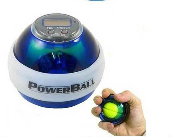 New Powerball Gyroscope LED Wrist Strengthener Ball SPEED METER Power Grip Ball Power Ball In Stock