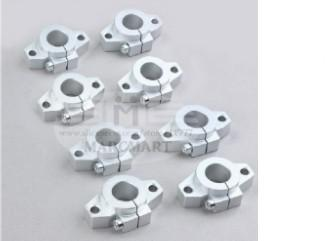 Pack of 4 SHF12 12mm Aluminum Linear Rod Rail Shaft Support CNC Route New