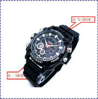Wholesale Hk Vision Camera - HK POST A1 Mini watch spy camera 1920*1080 New HD 1080P Waterproof infrared camcorder watch Night Vision 32GB