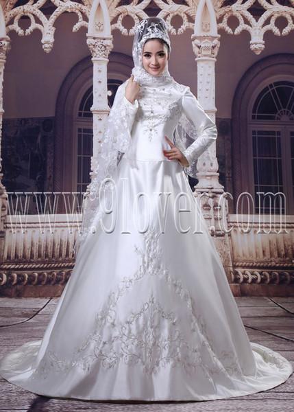 robe blanche islam. Black Bedroom Furniture Sets. Home Design Ideas