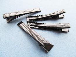 $enCountryForm.capitalKeyWord Canada - Black Silver tone Long Hair Clips,Single Prong Pinch Alligator Clip,Teeth Clips,Metal Hairpins,Handwork DIY craft,Hair Jewellery Accessory
