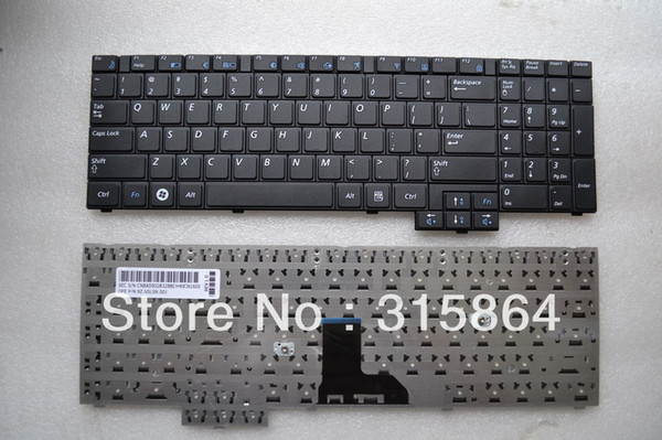 NEW SAMSUNG R530 R528 NP-R530 R540 NP-R620 R620 R618 LAPTOP KEYBOARD UK BLACK