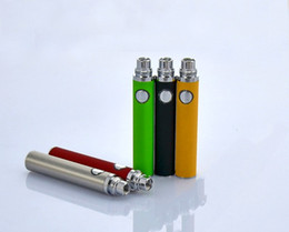 Wholesale Ego Battery Fashion - Electronic Cigarette Battery EGO EVOD Battery 650mAh 900mAh 1100mAh Colorful Fit MAT3 Atomizers Clearomizer Fashion EGO EVOD Batteries