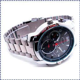 Wholesale Hk Vision Camera - HK Ship 1080P Waterproof Wristwatch Cam Night Vision Wrist Watch spy Camera Video Recorder Camcorder DV DVR Q6 8GB 16GB 32GB