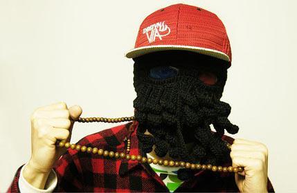 Christmas New Hats For Adult Handmade Cthulhu Ski Mask Octopus Hat 2013 Fashion Novelty Handmade Knitting Wool Octopus Unisex Hat YW15