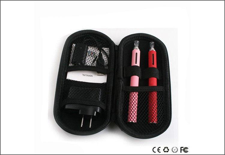 Heißer Verkauf EVOD Batterie BCC MT3 T4 Zerstäuber 650 900 1100mah Batterie eGo Installationssatz elektronische Zigaretten E-Zigarette mit dem Reißverschlusskasten DHL geben frei