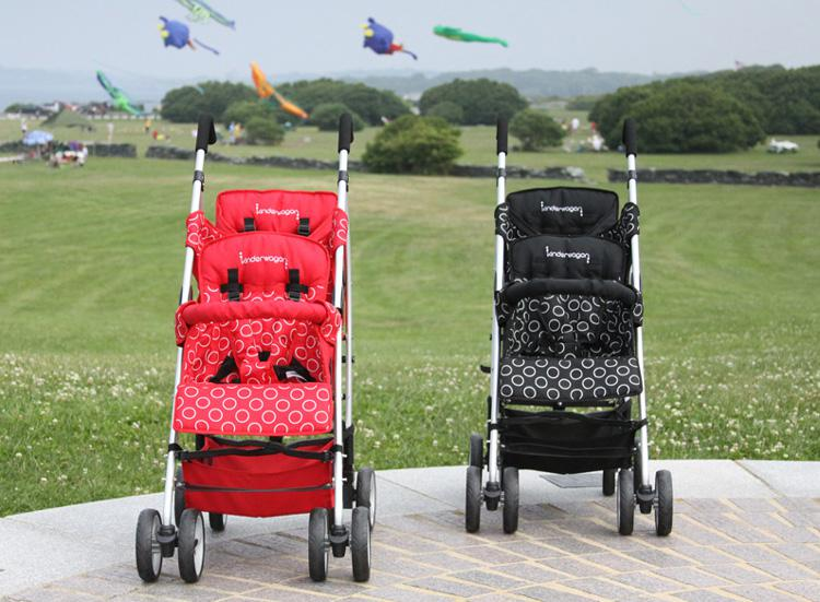 2017 2 Double Stroller Tandem Baby Buggy European Style Twins ...