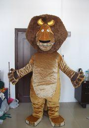 Wholesale Alex Lion Costume - high quality EVA head Adult Alex lion mascot costume Alex mascot costume mascot costume lion mascot costume for sale Same as Picture
