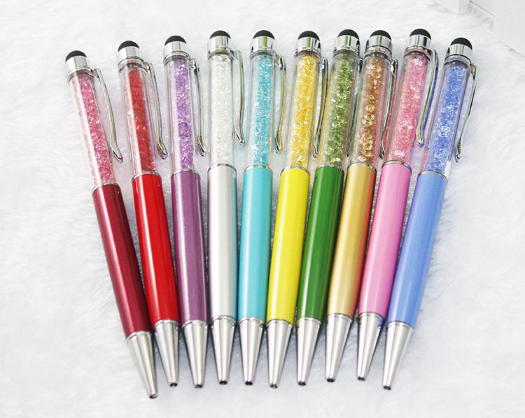2 في 1 وضوح الشمس بالسعة قلم + الكتابة القلم للهاتف المحمول أو الكمبيوتر اللوحي مع المطاط DHL فيديكس الحرة الشحن CH8562138