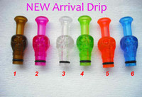 Wholesale Ego Ee2 Skull Drip Tip - Electronic Cigarette Colorful Drip Tips EGO Human Skull Mouthpiece Plastic Material for EGO Tank VV Nova EE2 Atomizer