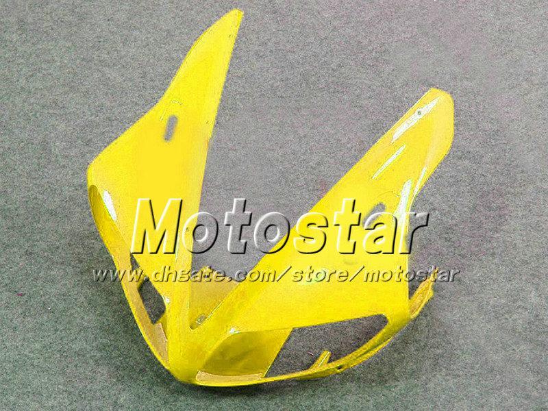 Verkleidungssatz gelb-weiß-schwarz YZF-R1 2002 2003 YZFR1 02 03 Verkleidungssatz YZF R1 YZFR1000 Karosserieersatzteile für YAMAHA nf24