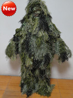 Wholesale outdoor sports hunting clothing for sale - Group buy Hunting equipment camouflage Ghillie Suit Army fans of outdoor sports equipment stealth jungle camouflage clothes camouflage clothing