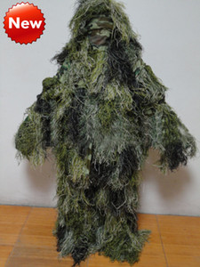 Wholesale Hunting equipment camouflage Ghillie Suit Army fans of outdoor sports equipment stealth jungle camouflage clothes camouflage clothing