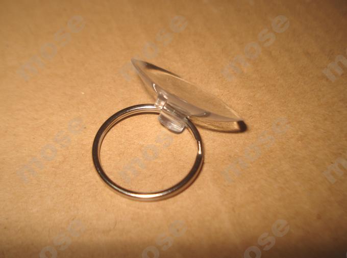 3.0cm sugkopp + nyckelring Softgums Sugkopp Haptor Cupula Cucurbitula Öppna pryingverktyg för telefonreparation