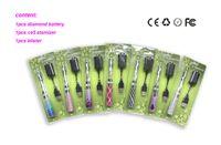 ingrosso kit ego ce5 e blister-Ego batteria batteria Starter Kit CE5 Atomizzatore Clearomizer Sigaretta elettronica E Cig Blister 650 900 1100mAh Batteria EGO VV EVOD twist ego t