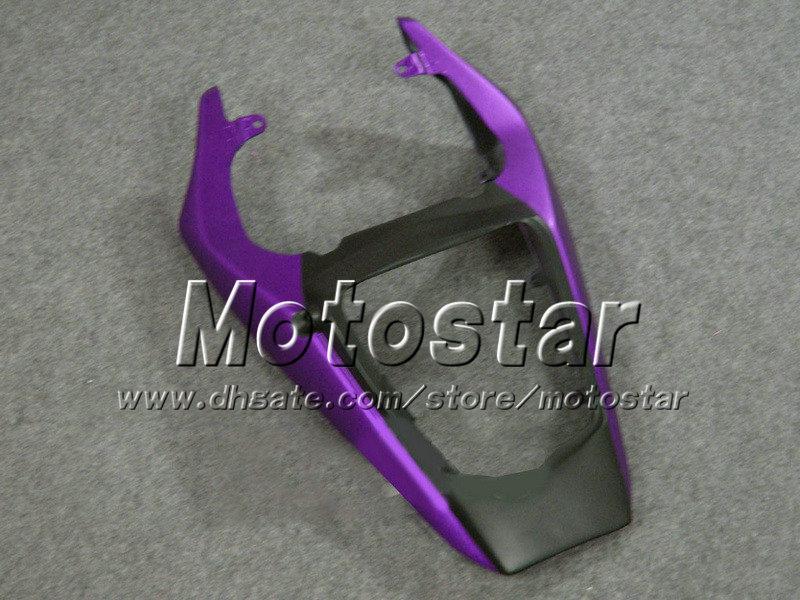 紫色の炎マットの黒いABSプラスチックフルフェアリングキットYamaha YZF-R6 05 YZFR6 05 2005 YZF R6 YZF600カスタマイズフェアリングセットGH36