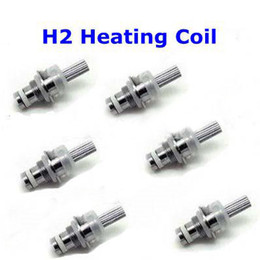 Wholesale h2 bottom coil - 2.4OHM GS H2 Atomizer replacement Coil for GS-H2 Clearomizer Bottom Heating Coil Atomizer Core for H2 Atomizer E-cigarette