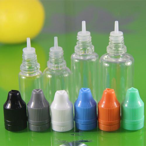 Colorido 5 ml 10 ml 15 ml 20 ml 30 ml Vazio E Líquido Plástico Conta-gotas De Plástico com tampas de Garrafa À Prova De Criança Agulha Dicas E líquido