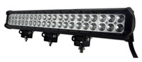 Wholesale Buses Steels - Auto LED light bar 108W 17'', stainless steel bar,used ATVs, SUV, truck, Fork lift, trains, boat, bus, and tanks