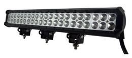 Wholesale Use Boats - Auto LED light bar 108W 17'', stainless steel bar,used ATVs, SUV, truck, Fork lift, trains, boat, bus, and tanks