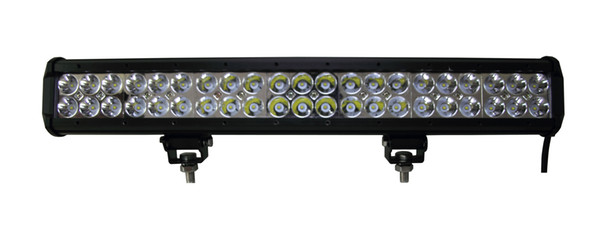 Auto LED light bar, 126W 20 inch stainless steel bar,used ATVs, SUV, truck, Fork lift, trains, boat, bus, and tank